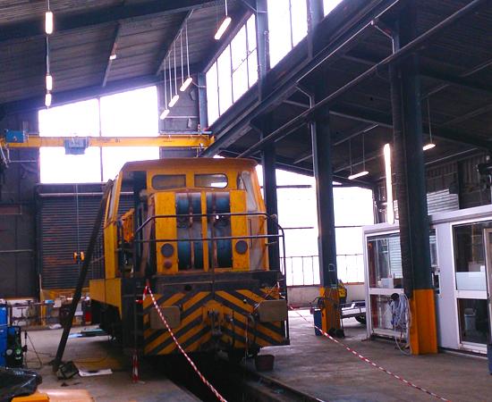 Réhabilitation de l'atelier Socomat SGTL (77670 VERNOU la celle)