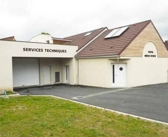 Ateliers municipaux (Veneux-les-Sablons - 77)