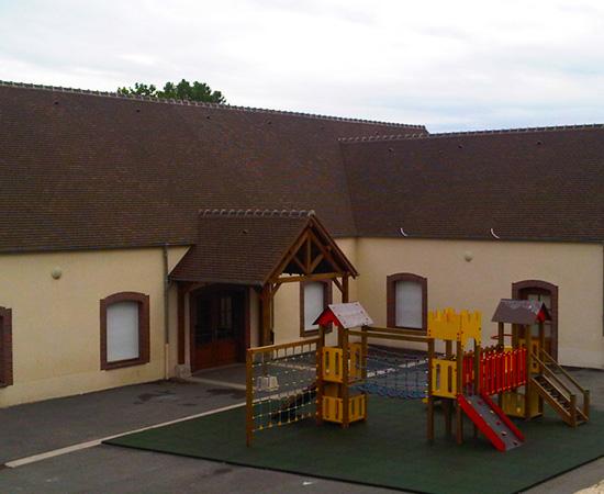 Nouvelle école maternelle (Salin 77)